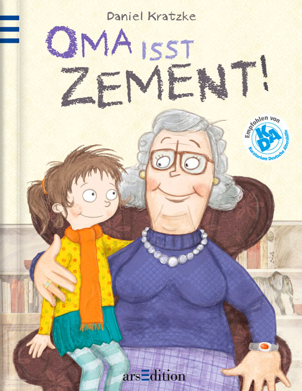 Buchcover »Oma isst Zement!«